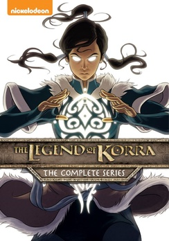 The Legend of Korra Complete Series DVD