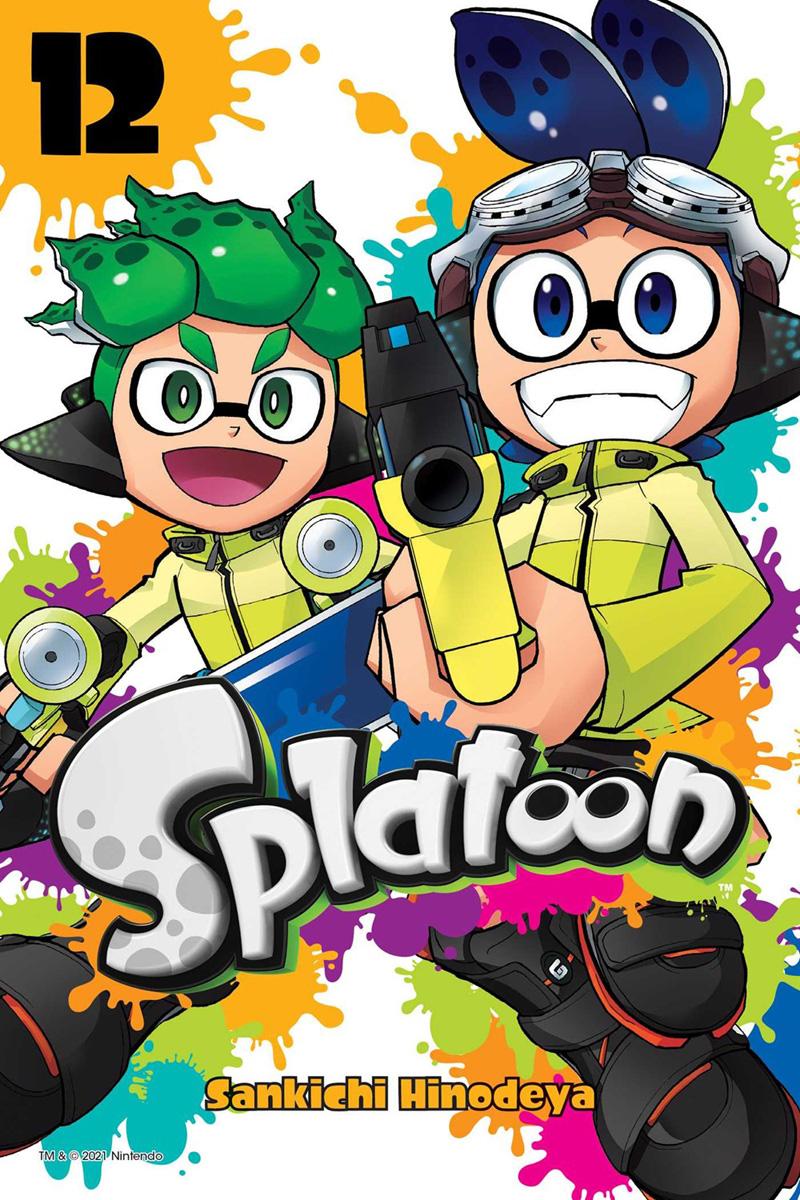 Splatoon Manga Volume 12