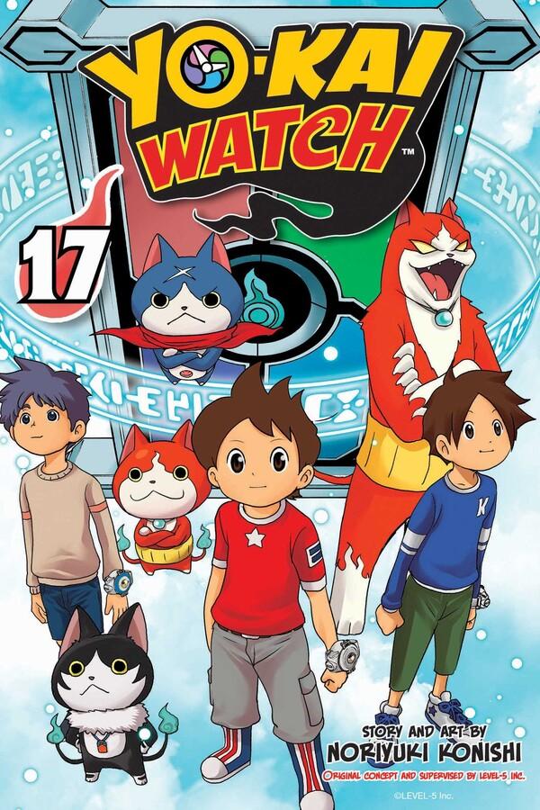 Yo-kai Watch Manga Volume 17