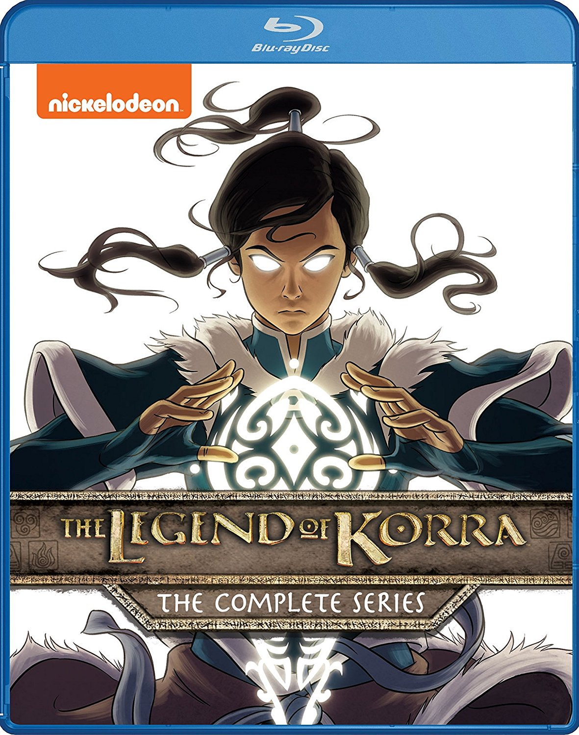 The Legend of Korra Complete Series Blu-ray