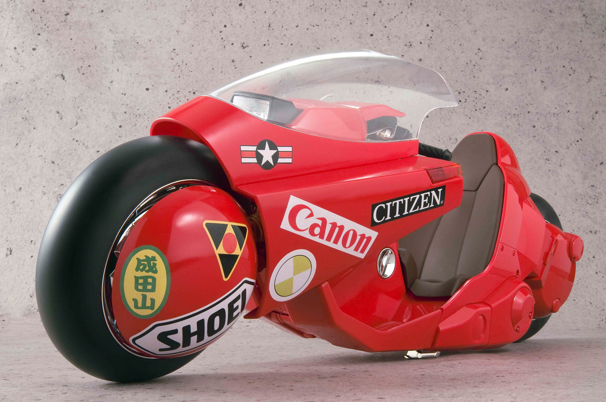 Kanedas Bike Revival Ver Akira Figure
