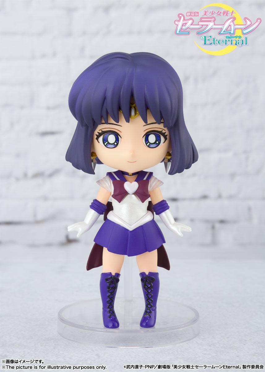 Super Sailor Saturn Pretty Guardian Sailor Moon Eternal Figuarts Mini Figure