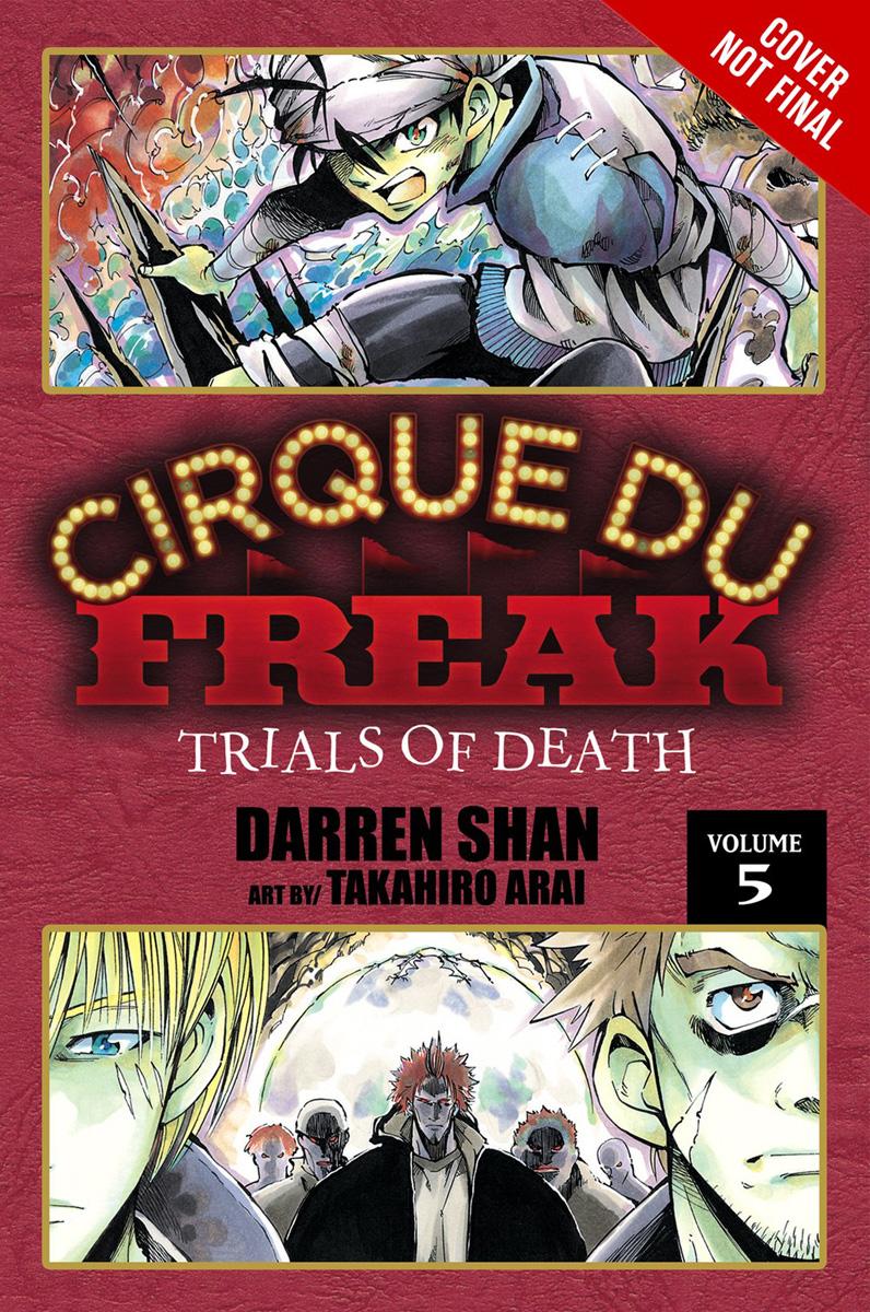 Cirque Du Freak Manga Omnibus Volume 3