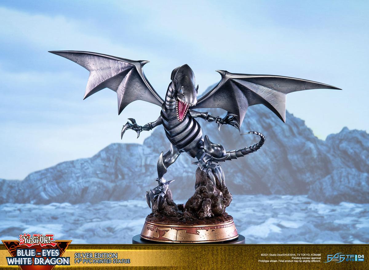 Blue-Eyes White Dragon Silver Variant Ver Yu-Gi-Oh! Statue