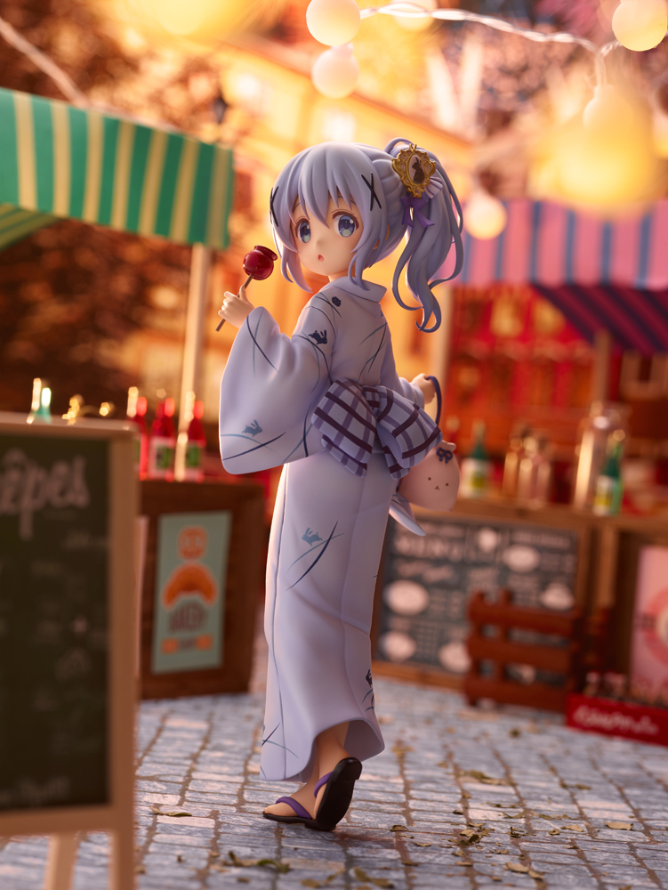 Chino Summer Festival Ver Is the Order a Rabbit? BLOOM Figure