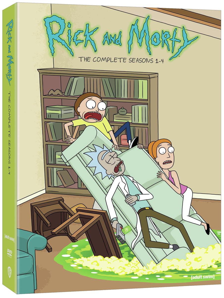 Rick and Morty Seasons 1-4 DVD