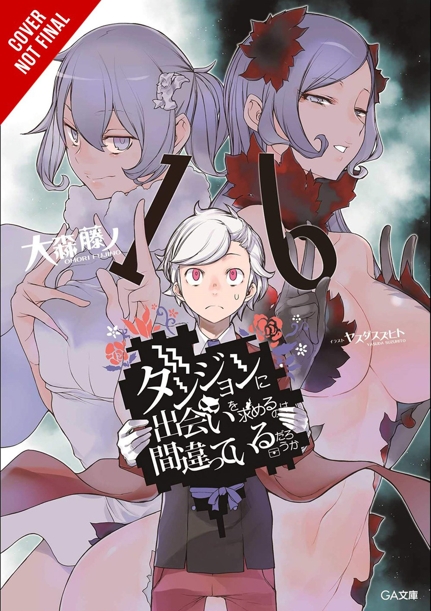 Is It Wrong to Try to Pick Up Girls in a Dungeon? Novel Volume 16