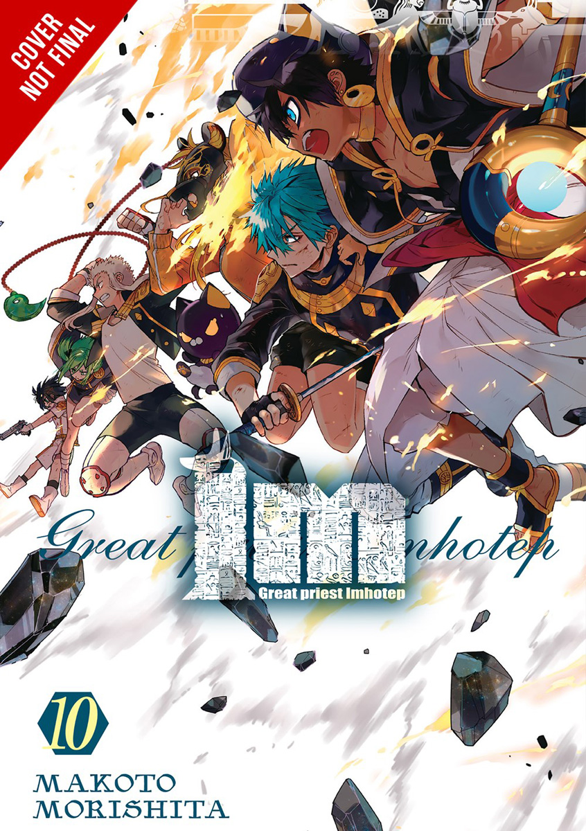 Im Great Priest Imhotep Manga Volume 10