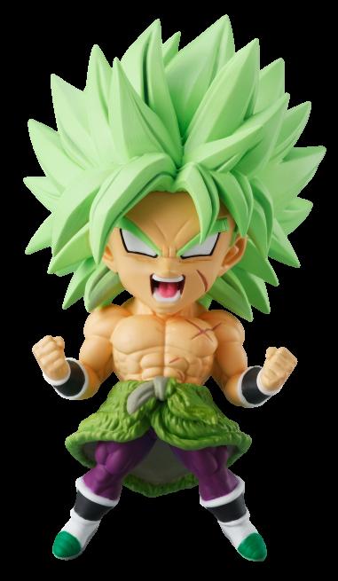 Super Saiyan Broly Chibi Masters Dragon Ball Super Figure
