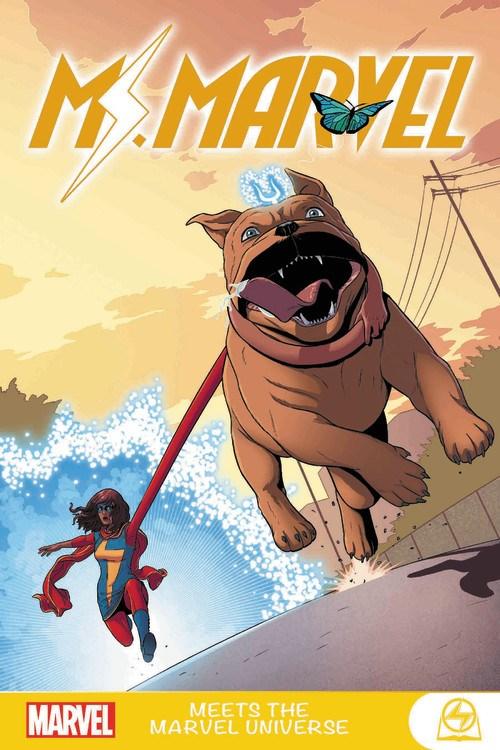 Ms. Marvel Volume 3 Ms. Marvel Meets the Marvel Universe Graphic Novel