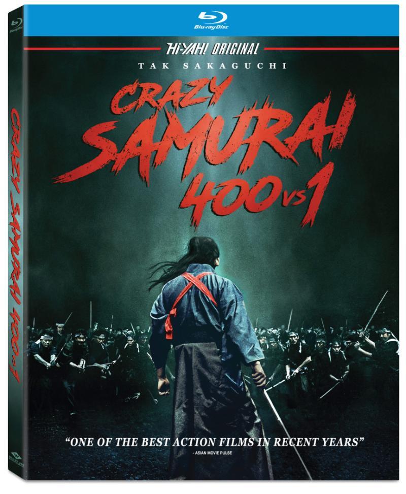 Crazy Samurai 400 vs. 1 Blu-ray