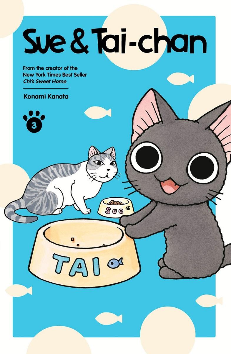 Sue & Tai-chan Manga Volume 3 (Color)