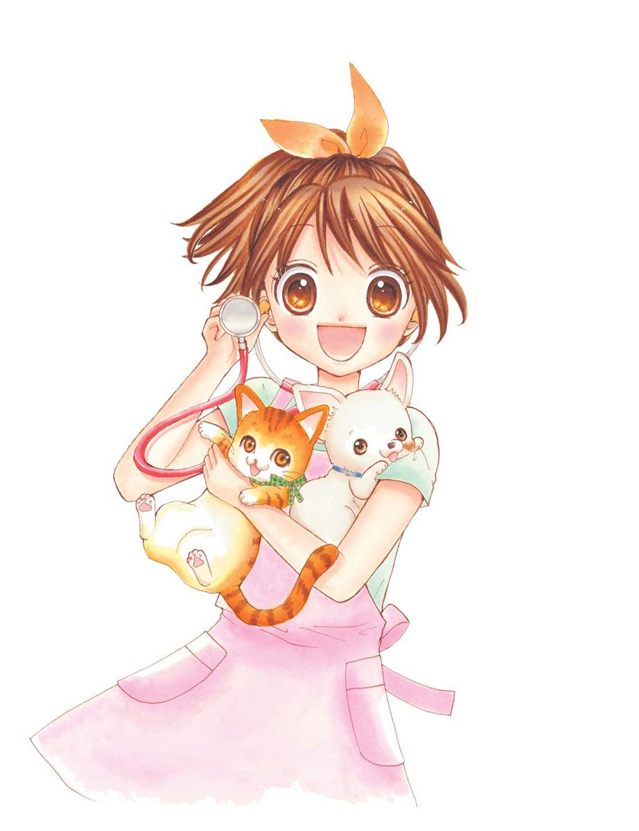 Yuzu the Pet Vet Manga Volume 8