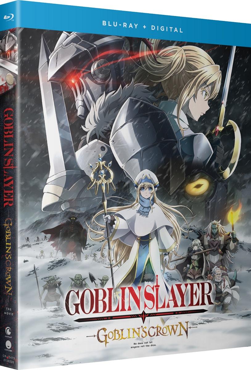Goblin Slayer Goblins Crown Movie Blu-ray