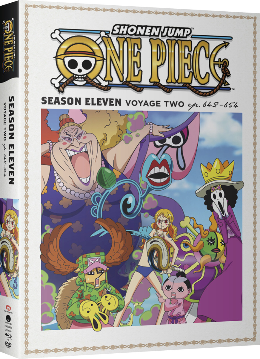 One Piece Season 11 Part 2 Blu-ray/DVD