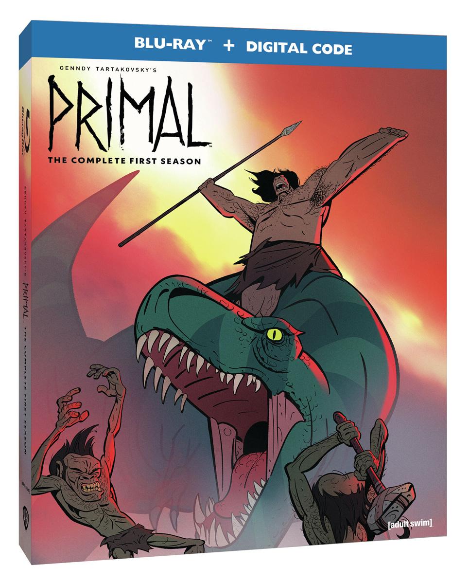 Genndy Tartakovskys Primal Season 1 Blu-ray
