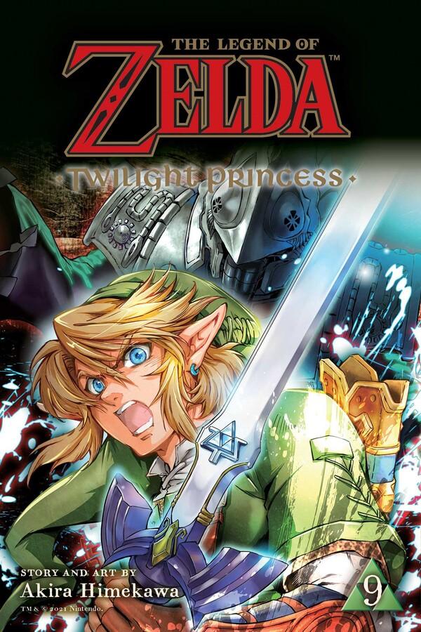 The Legend of Zelda Twilight Princess Manga Volume 9