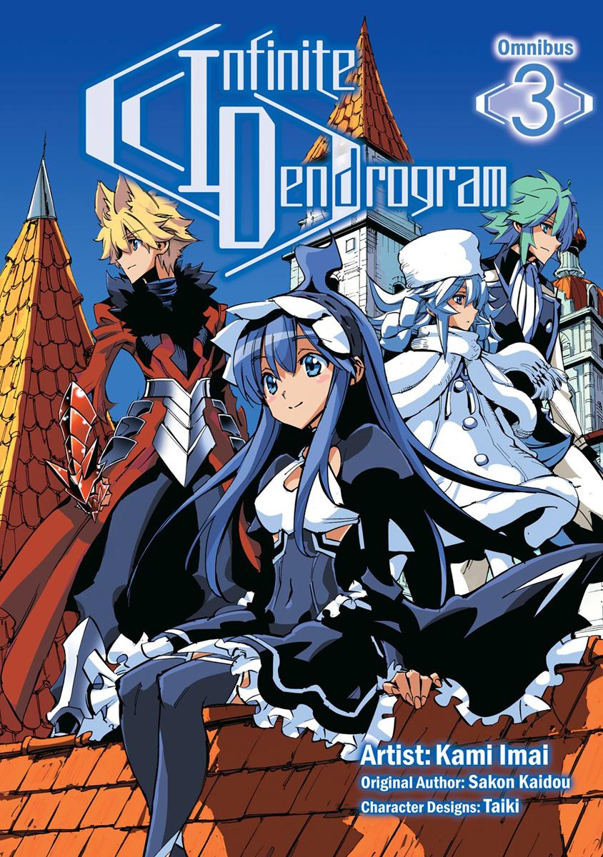 Infinite Dendrogram Manga Omnibus Volume 3
