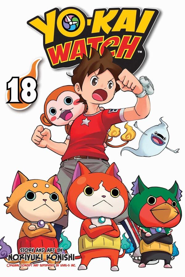 Yo-kai Watch Manga Volume 18