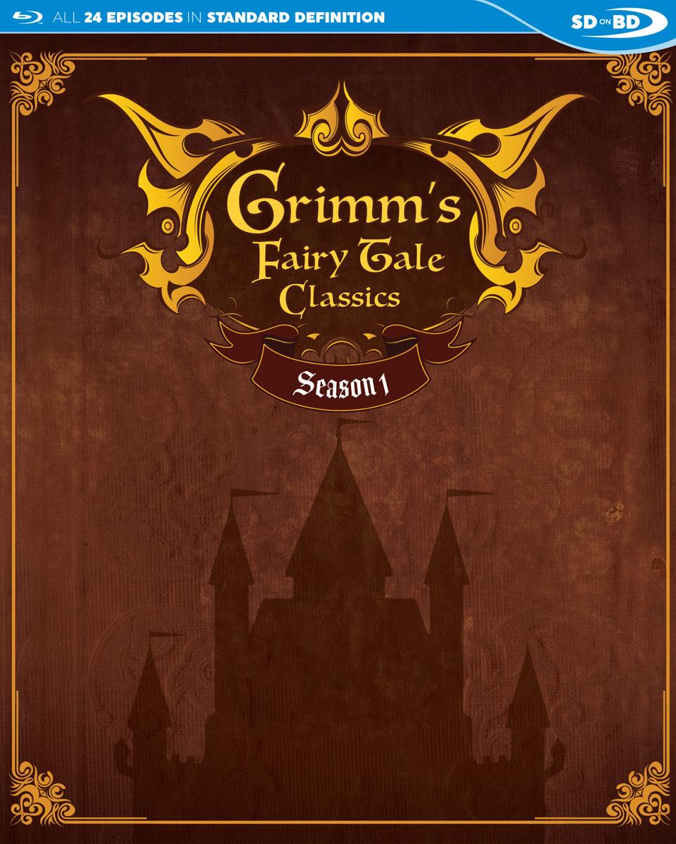 Grimms Fairytale Classics Season 1 Blu-ray