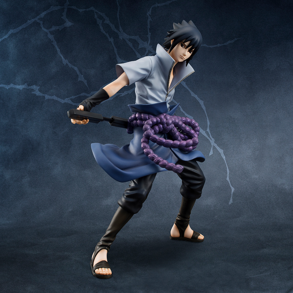 Sasuke Uchiha (Re-run) Naruto Shippuden GEM Series Figure