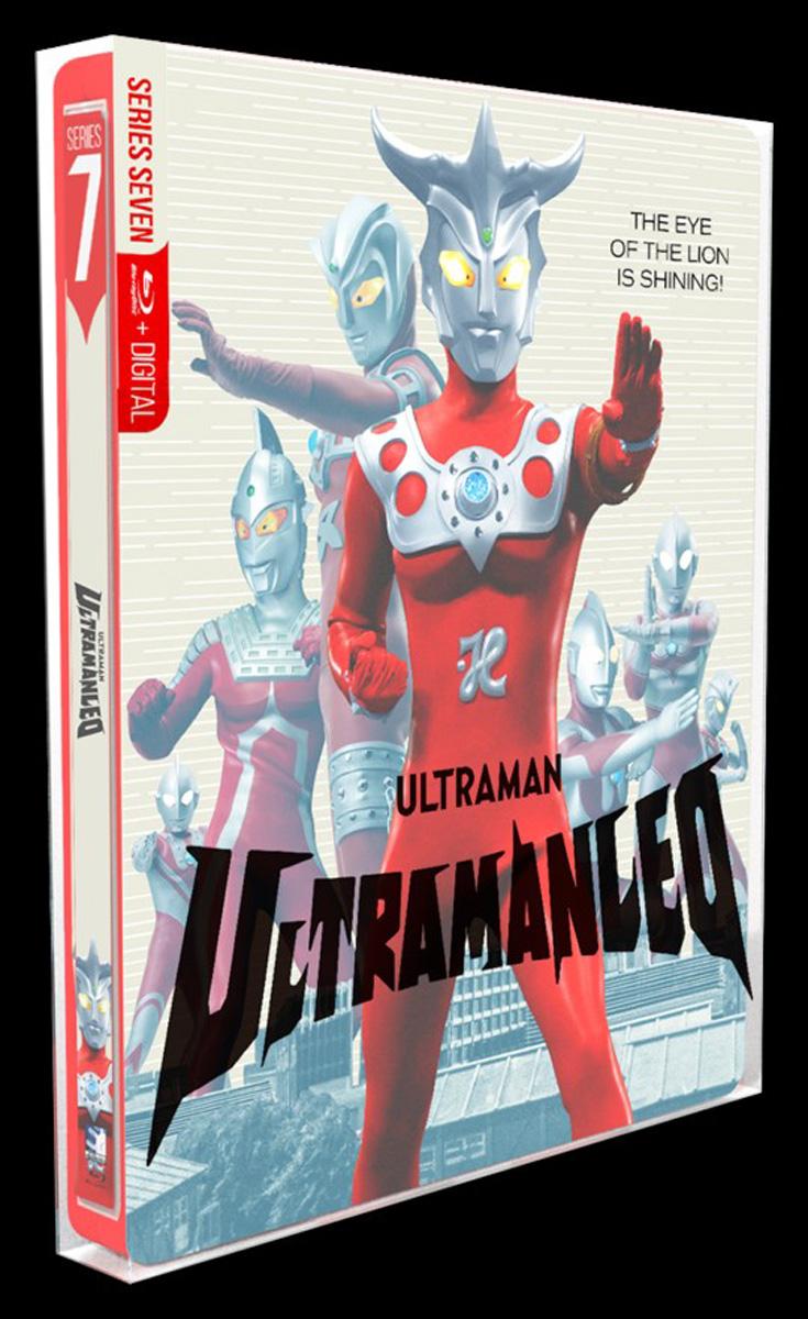 Ultraman Leo Steelbook Blu-ray