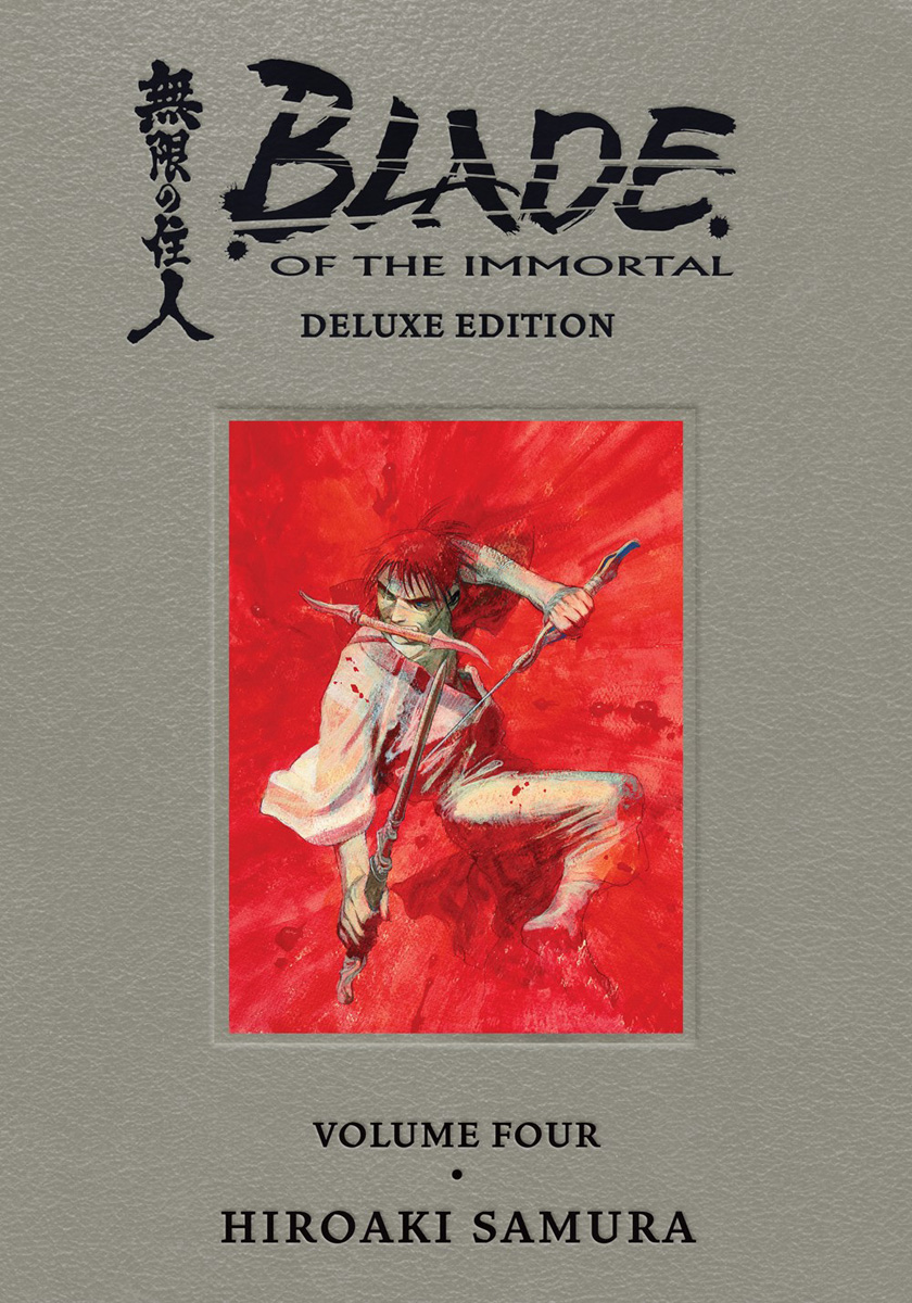 Blade of the Immortal Deluxe Edition Manga Omnibus Volume 4 (Hardcover)