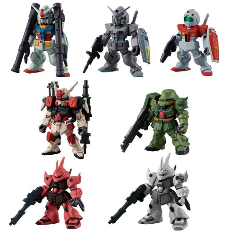 FW Gundam Converge 22 Bandai Shokugan Figure Set
