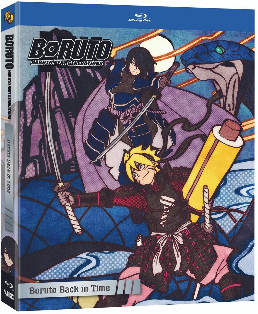 Boruto Naruto Next Generations Set 10 Blu-ray