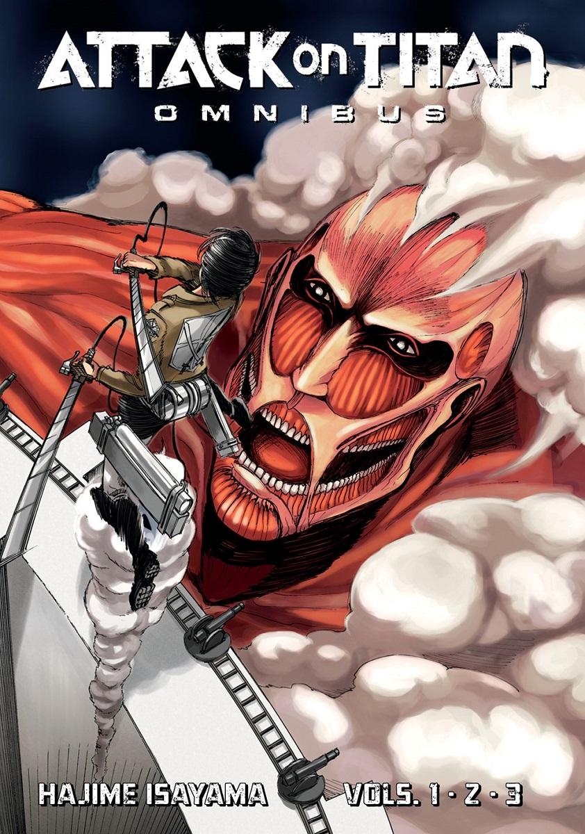 Attack on Titan Manga Omnibus Volume 1