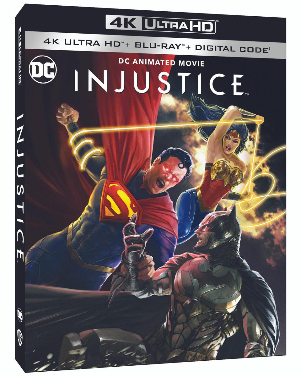 Injustice 4K HDR/2K Blu-ray