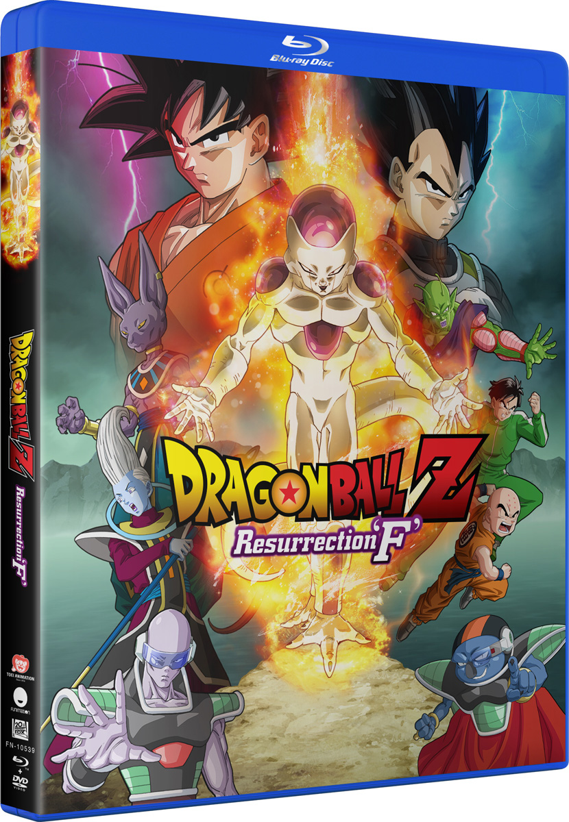 Dragon Ball Z Resurrection F Blu-ray/DVD