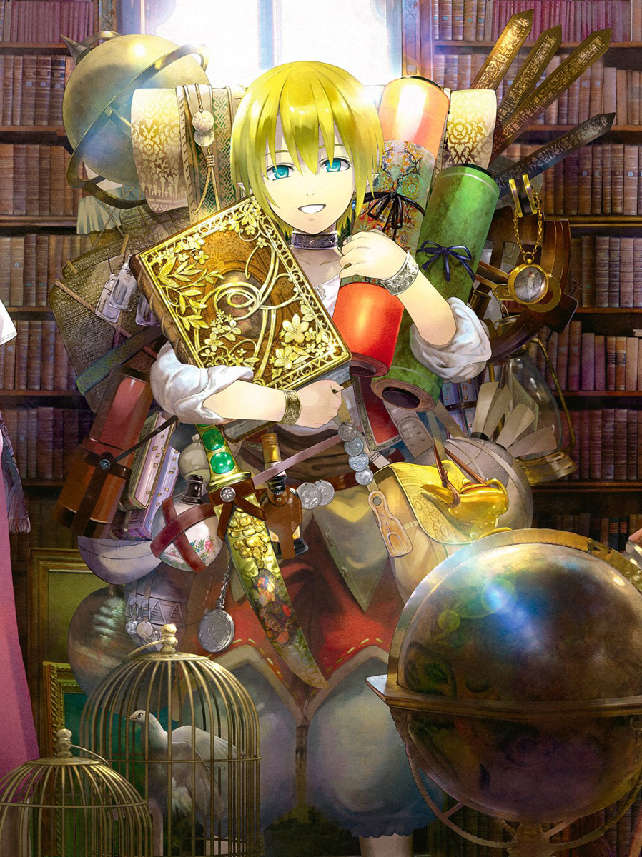 Magus of the Library Manga Volume 6