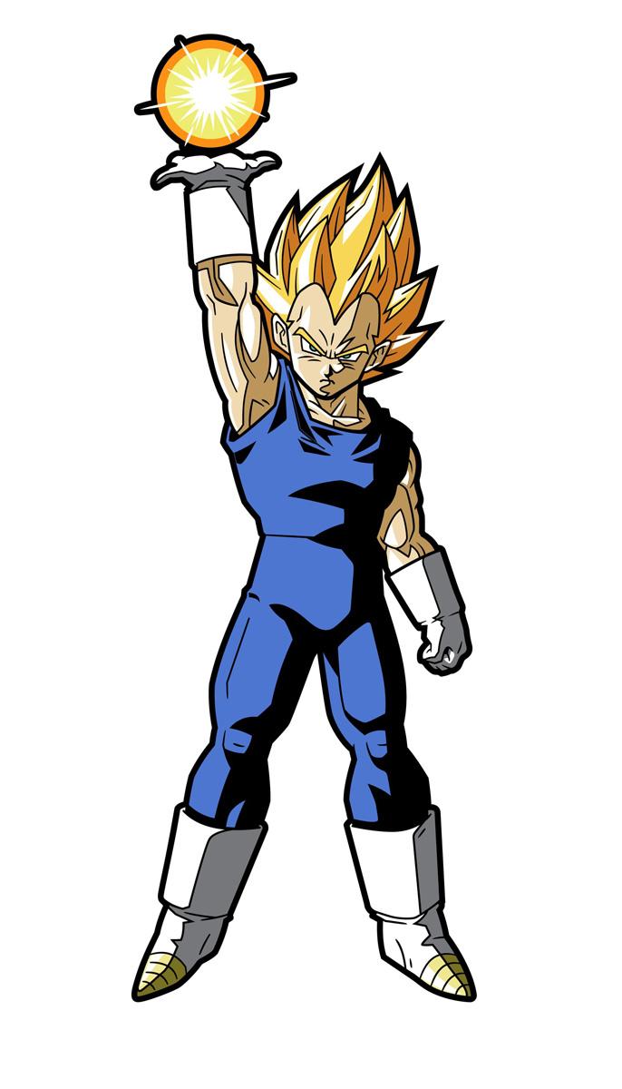 Super Saiyan Vegeta Dragon Ball Z FiGPiN