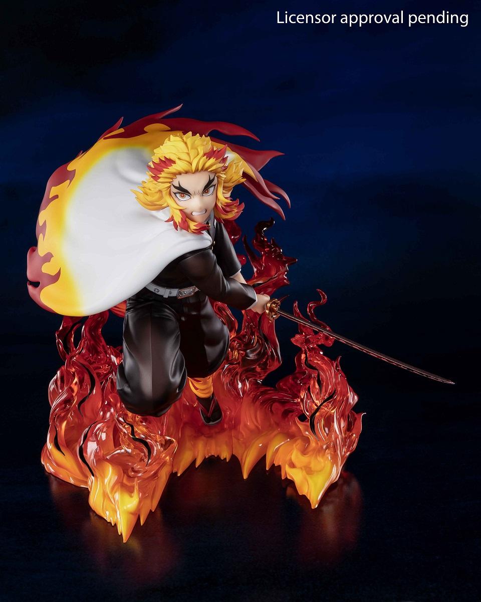 Kyojuro Rengoku Demon Slayer The Movie Mugen Train Figuarts Figure