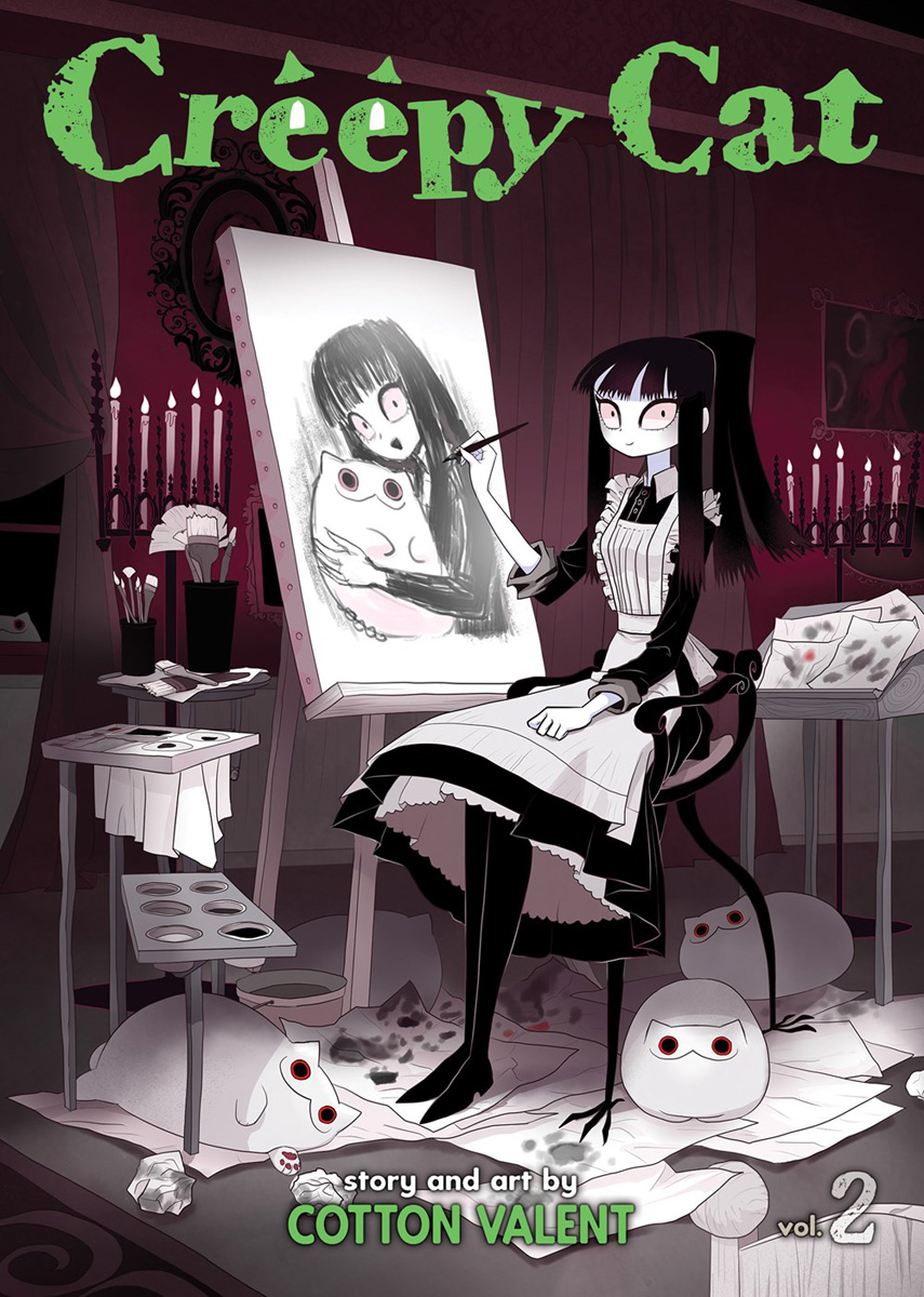 Creepy Cat Manga Volume 2 (Color)