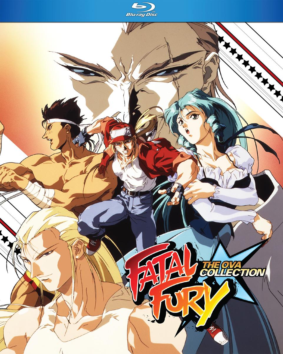 Fatal Fury OVA Blu-ray
