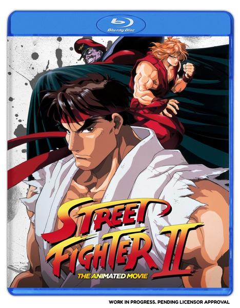 Street Fighter II The Animated Movie Blu-ray