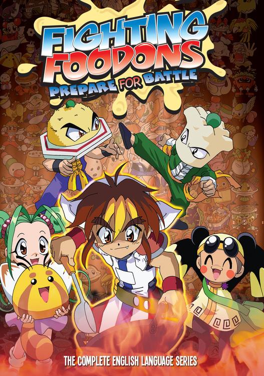 Fighting Foodons DVD