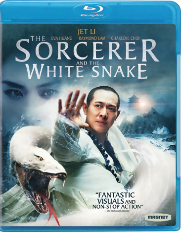 Sorcerer and the White Snake Blu-ray