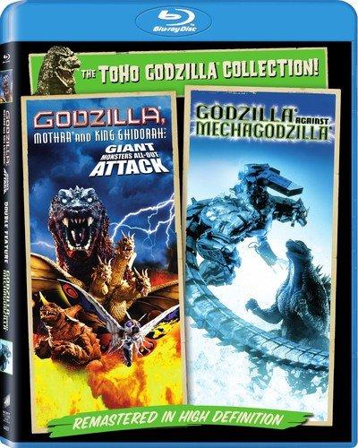 Godzilla Mothra, King Ghidora and Mechagodzilla Double Feature Blu-ray