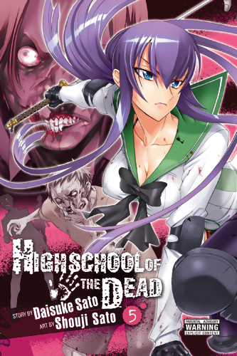 Highschool of the Dead Manga Volume 5