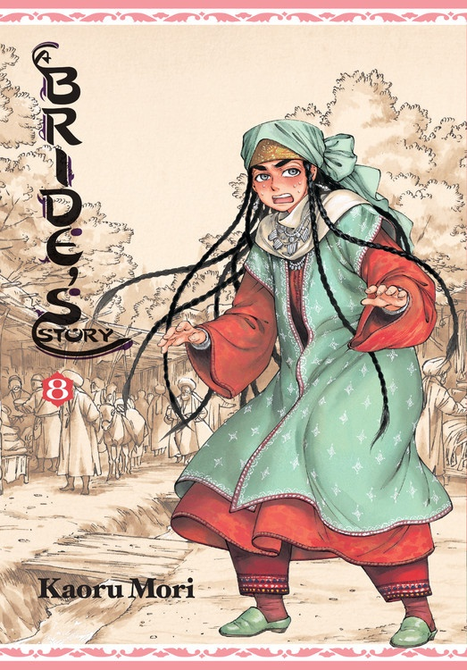 A Brides Story Manga Volume 8 (Hardcover)