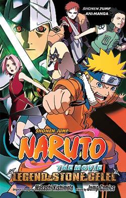 Naruto the Movie Volume 2 Ani-Manga (Color)