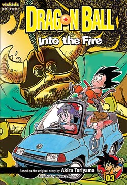 Dragon Ball Chapter Book Volume 3 Into the Fire