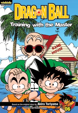 Dragon Ball Chapter Book Volume 6 Training with the Master